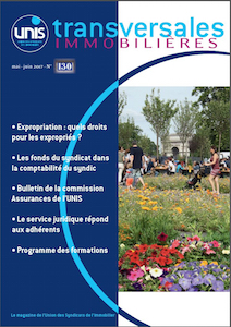 Magazine Immobilier Transversales 130 couv